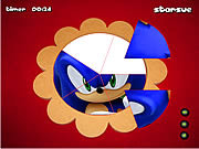 Sonic The Hedgehog Round Puzzle j�t�k